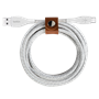 Belkin - DuraTek Plus Type A to Type C Cable 4ft - White
