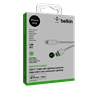 Belkin - Boost Up Charge Apple Lightning to USB Type C Cable 4ft - White